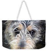 Dog Head Weekender Tote Bag