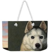 Dog-nature 9 Weekender Tote Bag by James W Johnson