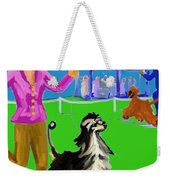 Dog Show Competitors Weekender Tote Bag
