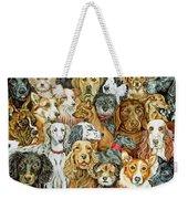 Dog Spread Weekender Tote Bag by Ditz
