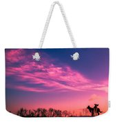 Dog Sunrise 2 Weekender Tote Bag