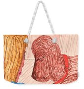 Dog Training Class Weekender Tote Bag
