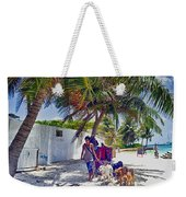 Dog Walker Weekender Tote Bag