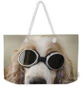 Dog With Eyeglasses Weekender Tote Bag