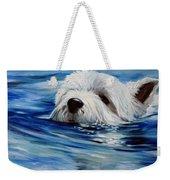 Doggie Paddle Weekender Tote Bag