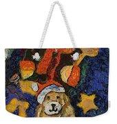 Doggie Xmas Stocking 03 Photo Art Weekender Tote Bag