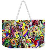 Dogs Dogs Dogs Weekender Tote Bag