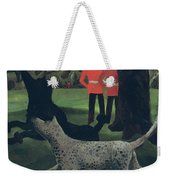 Dogs At Play Weekender Tote Bag