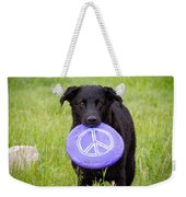 Dogs For Peace Weekender Tote Bag
