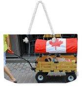 Dog's Life In Canada Weekender Tote Bag