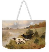 Dogs On The Scent Weekender Tote Bag