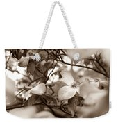 Dogwood Blossoms Weekender Tote Bag by Sharon Popek