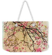 Dogwood Canvas 3 Weekender Tote Bag