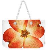 Dogwood Flower Weekender Tote Bag