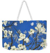 Dogwood Trees Weekender Tote Bag