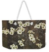 Dogwood Winter Weekender Tote Bag