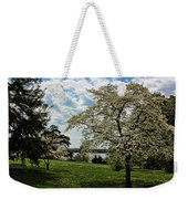 Dogwoods In Summer Weekender Tote Bag