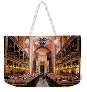 Dohany Street Synagogue In Budapest Weekender Tote Bag