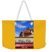 Dolce Vita Cafe In Saint-raphael France Weekender Tote Bag