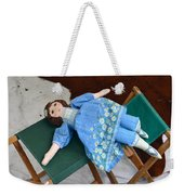 Doll And Camp Chairs 1800s Weekender Tote Bag