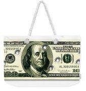 Dollar Drive By Weekender Tote Bag