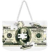 Dollar Puzzle-2 Weekender Tote Bag