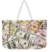 Dollars Background.  Weekender Tote Bag