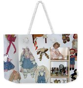 Dolls And Such Weekender Tote Bag