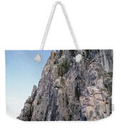 Dolomite Cliff With Guillemot Colony Weekender Tote Bag