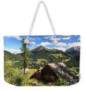 Dolomites - Cordevole Valley Weekender Tote Bag