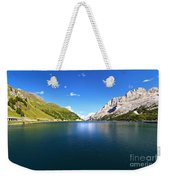Dolomites - Fedaia Lake  Weekender Tote Bag