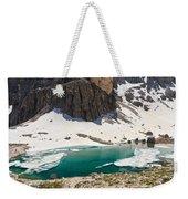 Dolomites - Pisciadu' Peak Weekender Tote Bag
