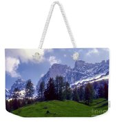 Dolomites Weekender Tote Bag