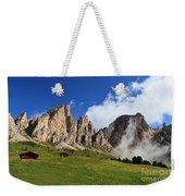 Dolomites In Badia Valley  Weekender Tote Bag