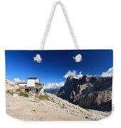 Dolomites -pale San Martino Group Weekender Tote Bag