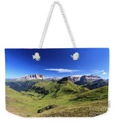 Dolomiti - High Fassa Valley Weekender Tote Bag