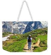 Dolomiti - Hiking In Contrin Valley Weekender Tote Bag
