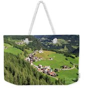 Dolomiti - Laste Village Weekender Tote Bag
