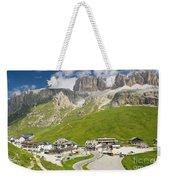 Dolomiti - Pordoi Pass Weekender Tote Bag