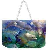 Dolphin Dream Weekender Tote Bag