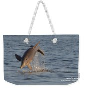 Dolphin I Mlo Weekender Tote Bag