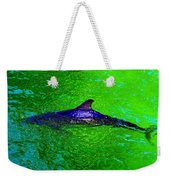 Dolphin In The Shallows Weekender Tote Bag