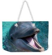 Dolphin Smile Weekender Tote Bag