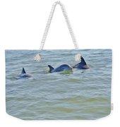 Dolphins 2 Weekender Tote Bag
