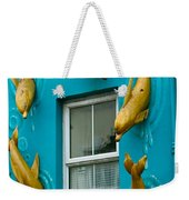 Dolphins At The Window Weekender Tote Bag