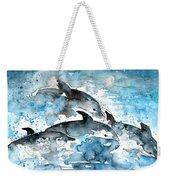 Dolphins In Gran Canaria Weekender Tote Bag