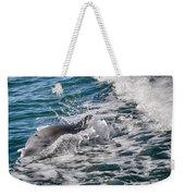 Dolphins Smile Weekender Tote Bag