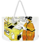 Domain-le Stamp Weekender Tote Bag by Doc Braham