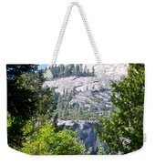 Dome Next To Half Dome Seen From Yosemite Valley-2013 Weekender Tote Bag