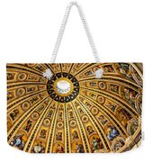 Dome Of St Peter's Basilica Vatican City Italy Weekender Tote Bag
